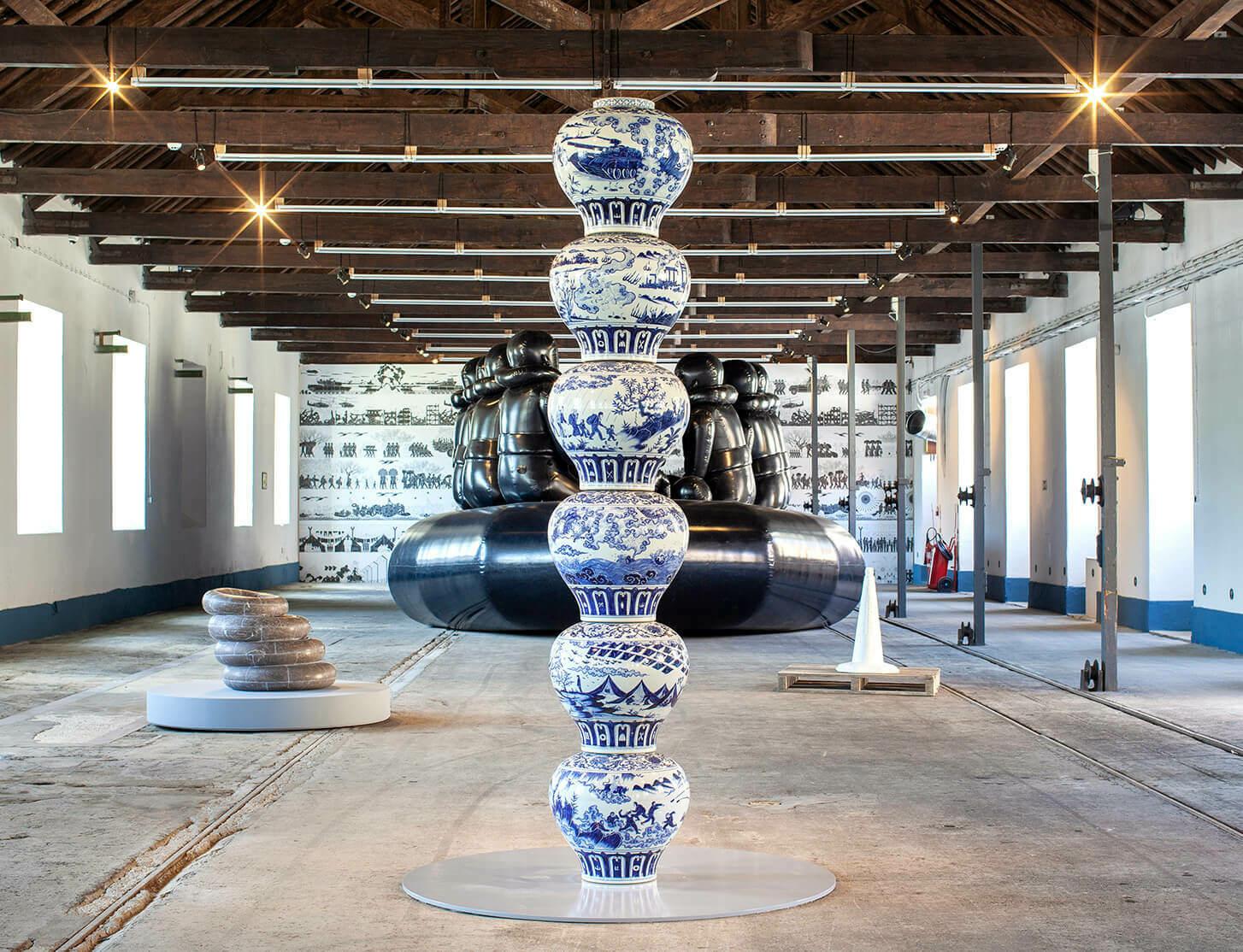 'Rapture', a major exhibition by Ai Weiwei, opens at Cordoaria Nacional in Lisbon