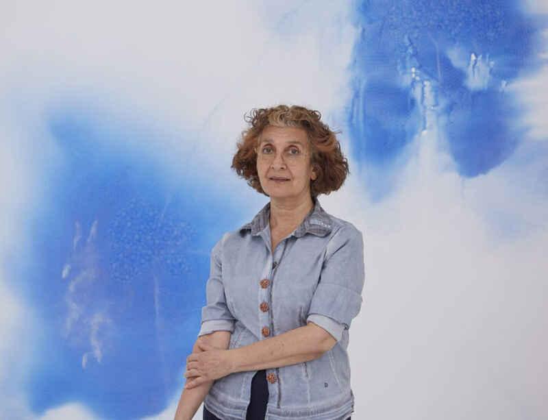 Shirazeh Houshiary speaks to Artnet News ahead of the opening of her Cork Street exhibition