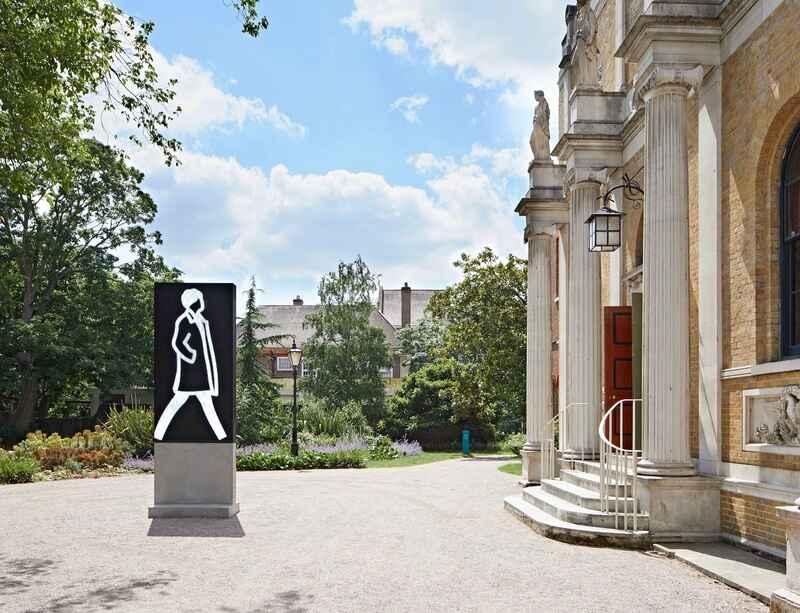 Julian Opie's solo exhibition opens at Pitzhanger Manor