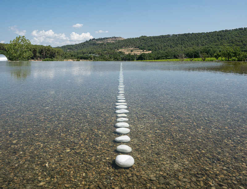 Exhibition by Richard Long opens at Chateau La Coste in Provence