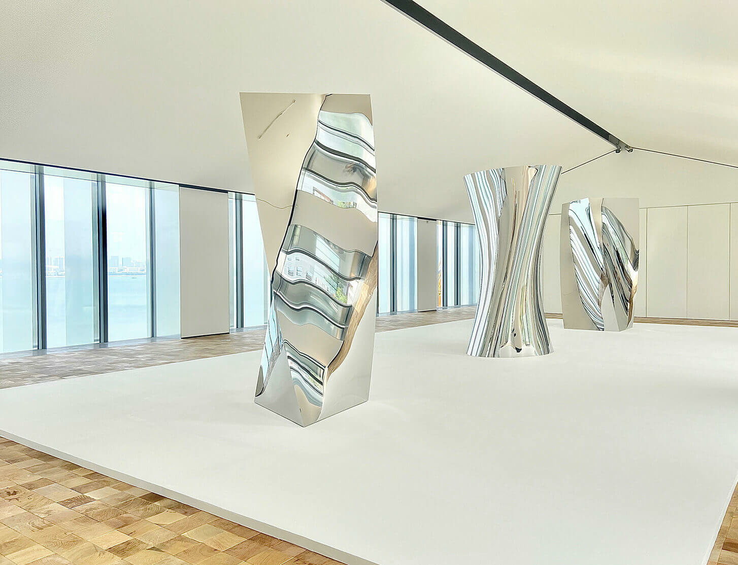 TAG Art Museum's inaugural exhibition features work by Richard Deacon, Anish Kapoor and Liu Xiaodong