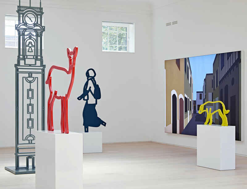Julian Opie will lead exhibition walkthrough of his solo show at Pitzhanger