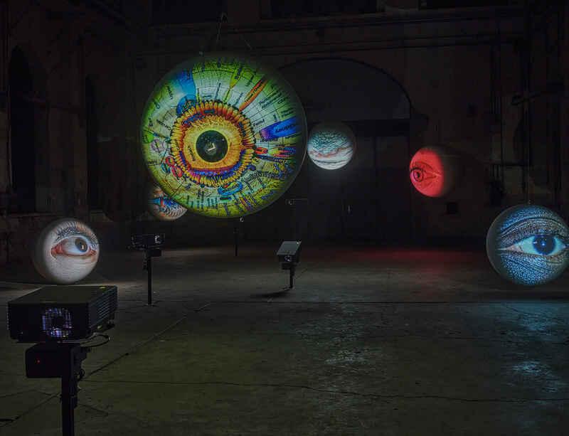 Tony Oursler's 'Specular' opens at Kunstraum Dornbirn