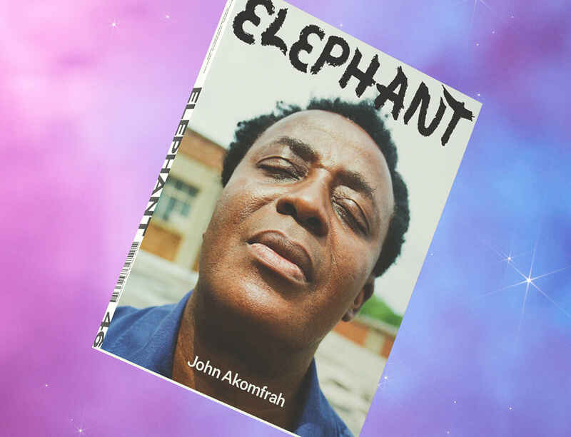 John Akomfrah featured on the cover of Elephant's Autumn/Winter 2021 issue