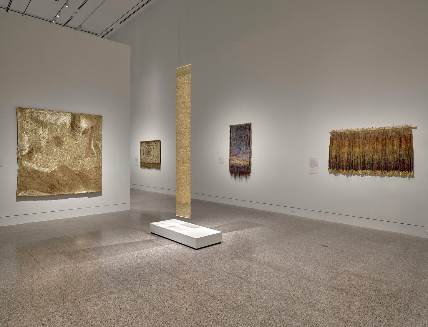Major touring exhibition of work by Olga de Amaral opens at The Museum of Fine Arts, Houston