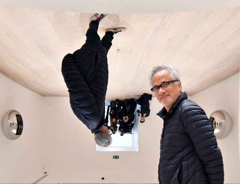 Anish Kapoor speaks to The Independent at Lisson Gallery ahead of the opening of his exhibitions