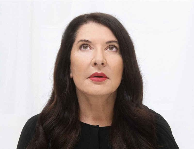 Elena Ferrante talks to Marina Abramović: FT Weekend Magazine Cover