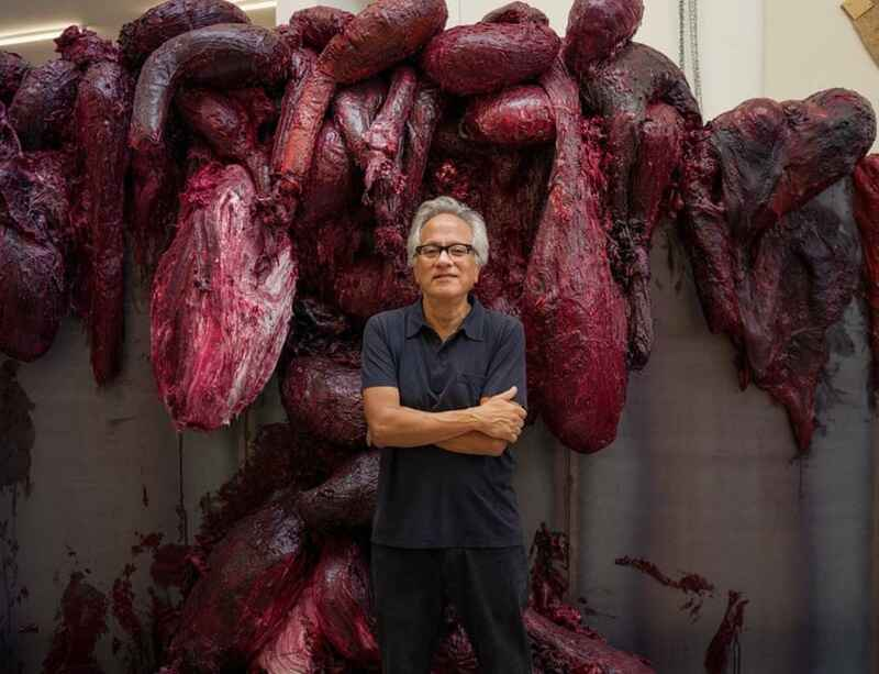 """""""Kapoor is an artist who takes you to the edge"""": The Guardian"""