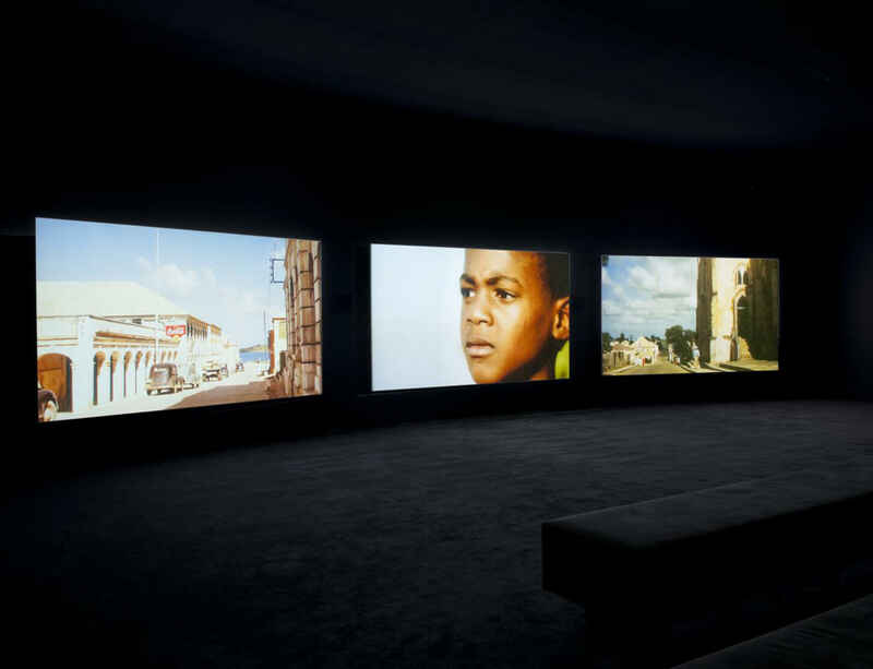 John Akomfrah's The Unfinished Conversation on display at Tate Britain