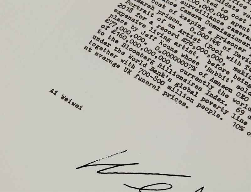 Ai Weiwei creates limited-edition print to support CIRCA public art programme