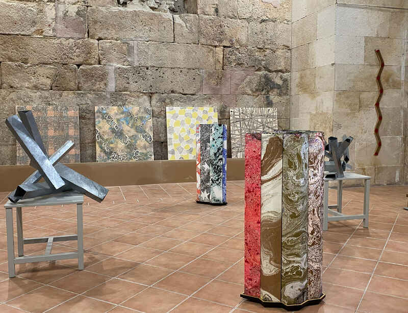New sculpture by Richard Deacon on view in Croatia