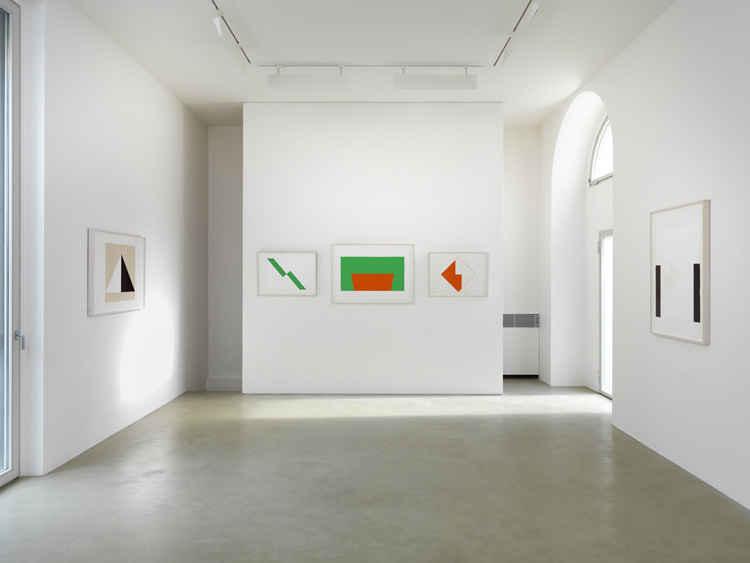 Carmen Herrera: Works on Paper 2010 - 2012