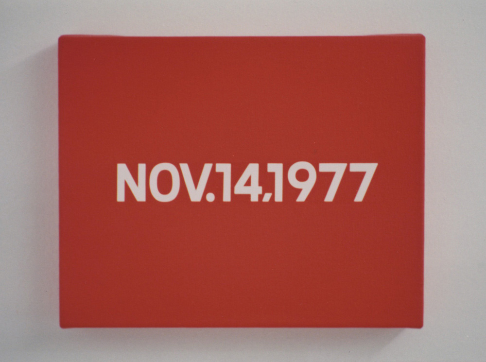 Kawara 1978 exhibition webedit