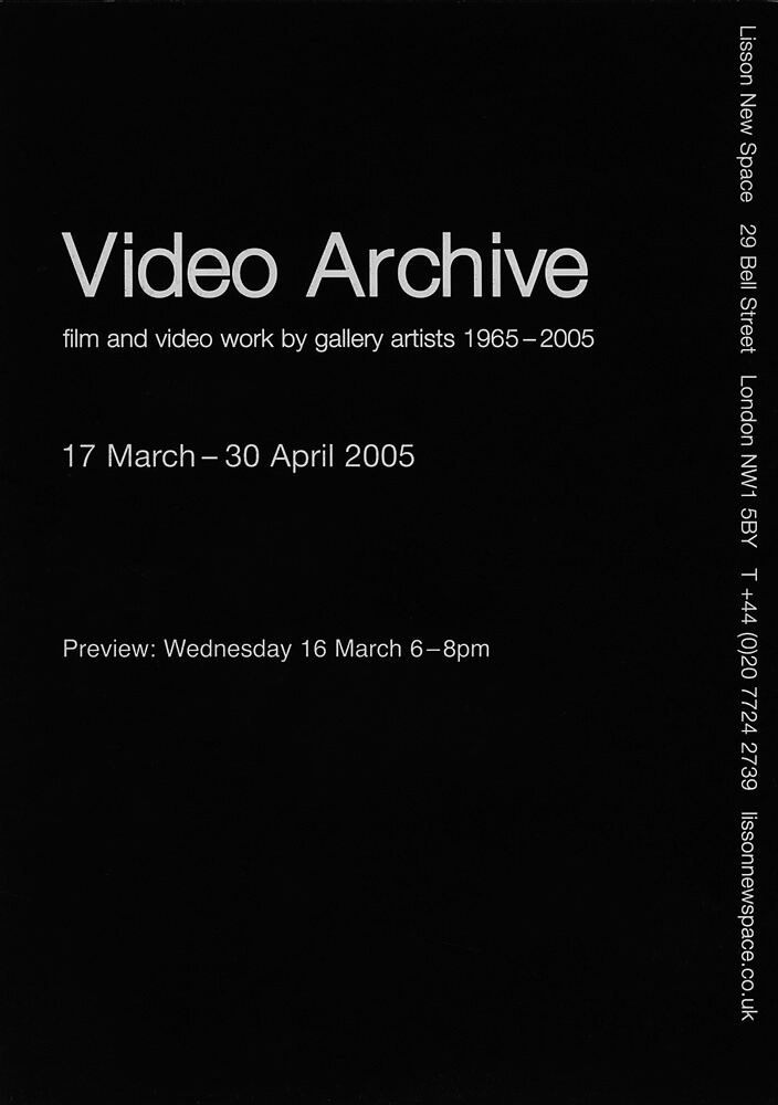 Video art invite 2 march 2005 webedit