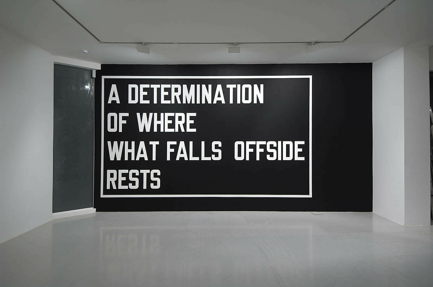 Lawrence Weiner Artists Lisson Gallery