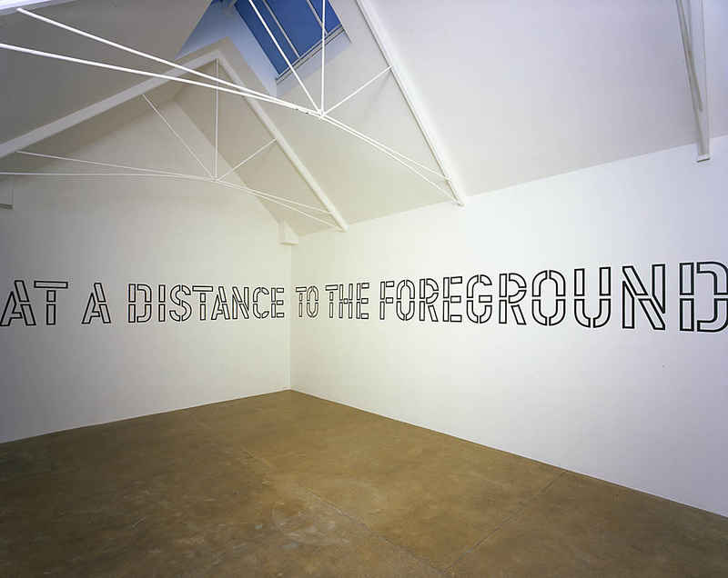 Lawrence Weiner: Within a Realm of Relative Form