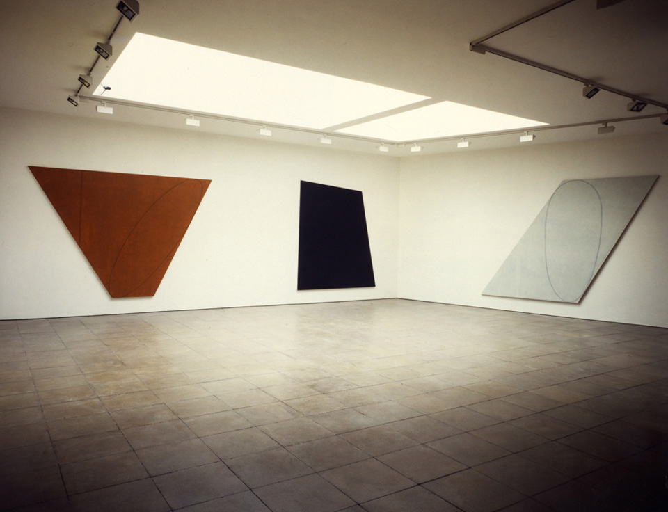 Robert Mangold: Attic series I-VI