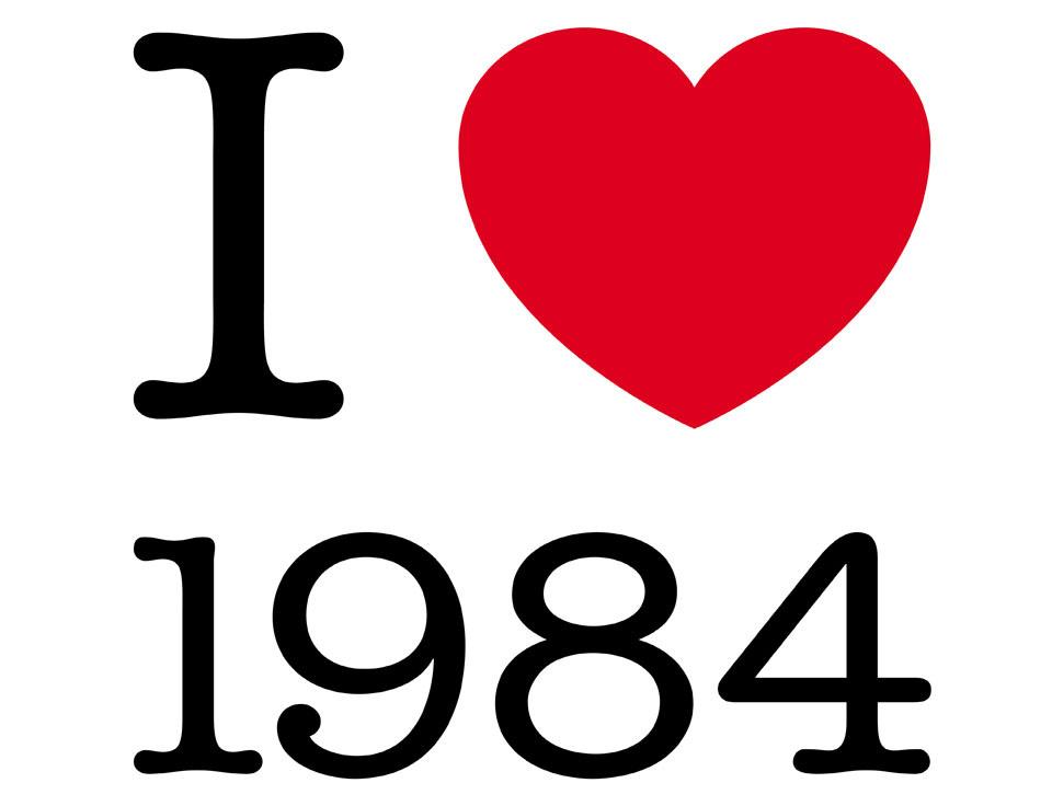Jonathan Monk: I ♥ 1984