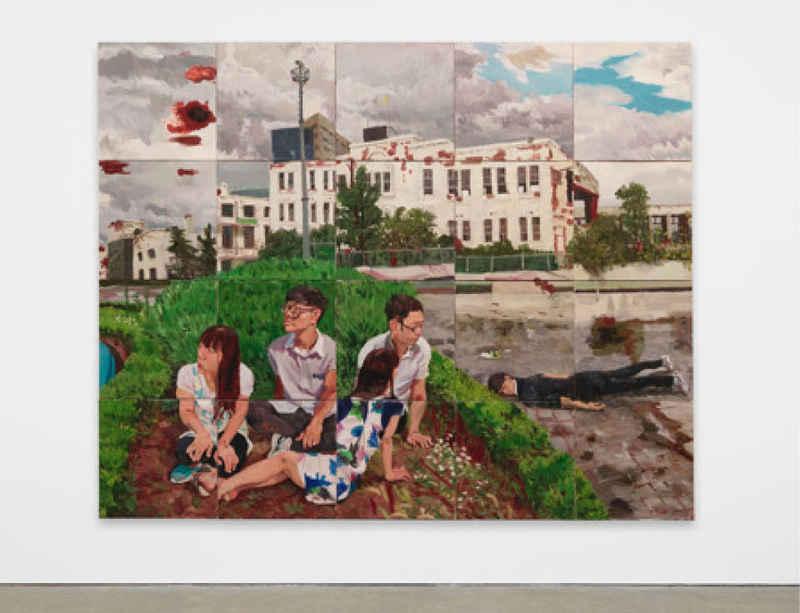 Venice Biennale: Liu Xiaodong 'Painting as Shooting'