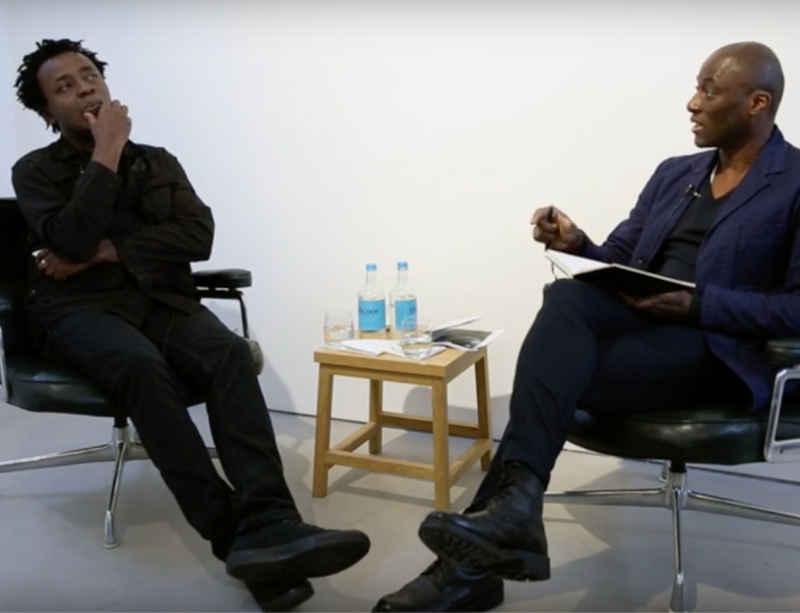 John Akomfrah in conversation with Ekow Eshun