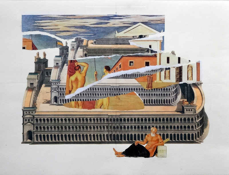 Giulio Paolini at Museo Poldi Pezzoli, Milan