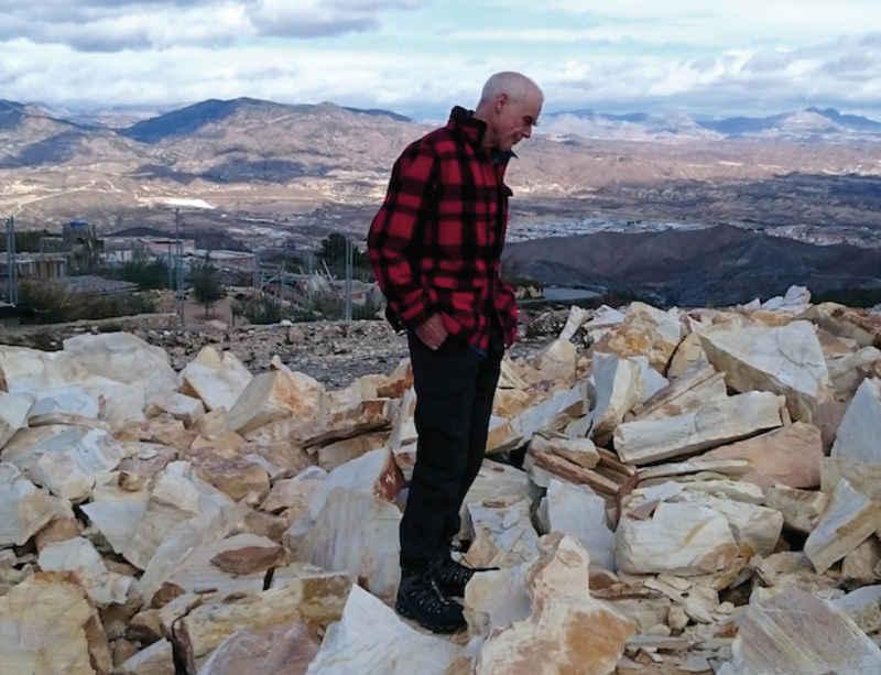 Richard Long: 'Cold Stones' at CAC Málaga, Spain