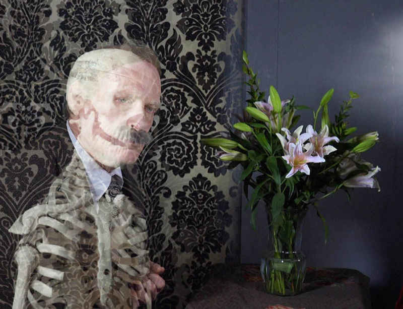 Tony Oursler's film 'Imponderable' shown at MoMA, New York