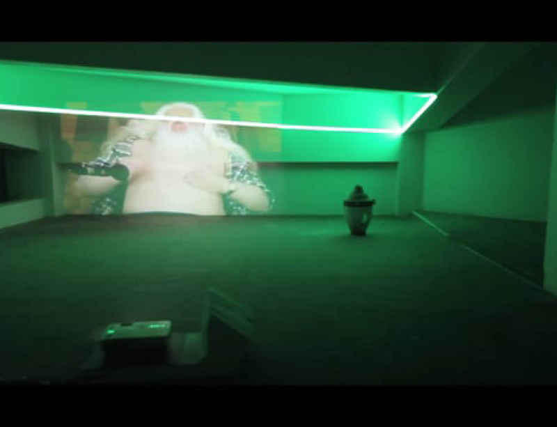 New video documents latest installation by Haroon Mirza