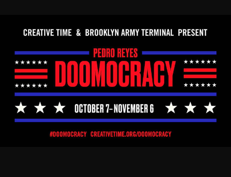 Creative Time to host Pedro Reyes's 'Doomocracy', a house of political horrors