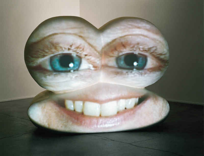 'M*r>0r' by Tony Oursler at Magasin III